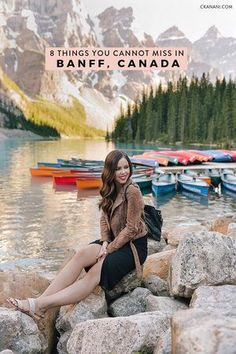 Things to do in Banff - the 8 things you absolutely cannot miss! Including where to stay in Banff, what to see, do, eat, and drink. #banff #alberta #canada #travel #banffnationalpark