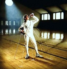 Fencing... sport, historical or theatrical... remember, it's safety first.