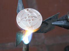 Torch fired Enamel: cloisonné part 1 - Tecnica cloisonné con smaltatura a torcia parte 1