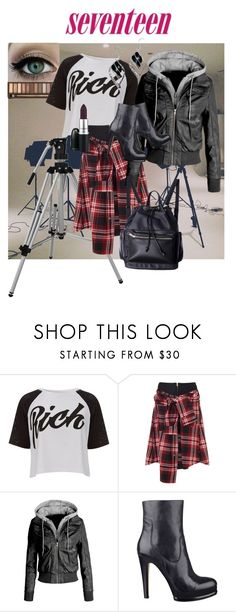 """""""Scar Seventeen Magazine October 2014 #1"""" by crazyperson45 ❤ liked on Polyvore featuring Lipsy, David Szeto, LE3NO and Nine West"""
