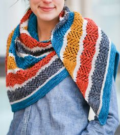 Knitting Pattern for Lorelai Shawl