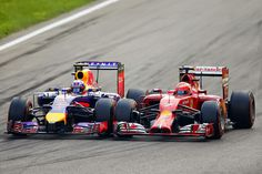 Red Bull vs Ferrari