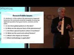 """Jacques Vallee's talk at CNES Paris in July 2014. """"Les 8 et 9 juillet, le CNES a réuni à Paris des scientifiques et des ufologues pour un atelier sur les mét..."""