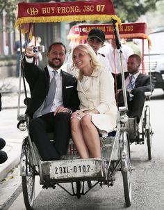 Álbum de fotos de Haakon y Mette-Marit de Noruega en Vietnam