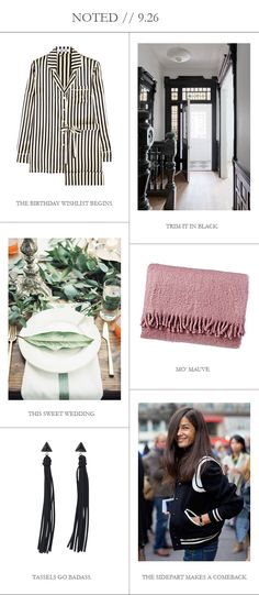 Spotted our Mohair Throw in Amethyst in @cocokelley's fall round-up.