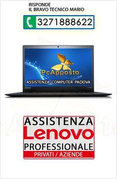 Centro asistenza notebook notebook Lenovo per privati ed aziende. Lavoro eseguito a regola d'arte preceduto da preventivo. Il Bravo Tecnico Mario