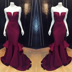 Cheap prom dresses Buy Quality prom dresses directly from China long prom Suppliers: Sweetheart Sleeveless Burgundy Mermaid Satin Prom Dresses 2017 Sexy Long Prom Gowns Cheap Party Gowns Prom Dresses 2016, Long Prom Gowns, Cheap Prom Dresses, Sexy Dresses, Formal Dresses, Formal Prom, Dress Prom, Prom Long, Pageant Dresses For Women