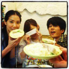 Sayaka, Kei, and Johnny Goose House, Actors, Play, Ethnic Recipes, Food, Essen, Meals, Yemek, Eten