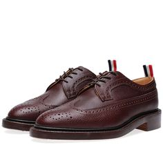 Thom Browne - Classic Wingtip. #menswear #mensstyle #mensfashion #style #fashion #dapper Sock Shoes, Men's Shoes, Shoe Boots, Shoes Sneakers, Dress Shoes, Wingtip Shoes, Best Shoes For Men, Men Style Tips, Thom Browne