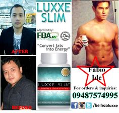 Luxxe Slim L-carnitine and Greentea Extract (Non-laxative slimming capsule) For orders contact +639487574995 or call (+63) (2) 738-5310 Visit our page: facebook.com/bellezaluxxe Order Contacts, Green Tea Extract, Whitening, Anti Aging, Wellness, Slim, Facebook, Health, Products