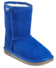 Emu Wool Kids Shoes, Girls or Little Girls Bronte Lo 2 Boots