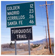 Beautiful drive - I dare to drive that route the first time I visited New Mexico. Now I think about it and make me wonder.