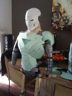IRONMAN Easy Cut FOAM building for Halloween?? @Coralie Baldwin @Jen Yost