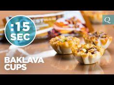 Quest Nutrition Baklava Cups #15SecondRecipe   Quest Nutrition