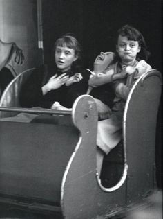 "Robert Doisneau ""The Ghost Train,"" 1953"