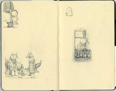 Sketchbook Sneak Peek: Stephanie Graegin