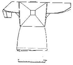 Reconstruction of the Viborg shirt. Back