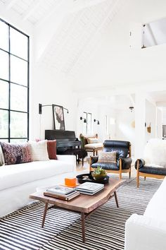 Get tips for planning out and choosing the perfect furniture for your living room with these great tips from Amber Lewis of @amberinteriors for @ehow