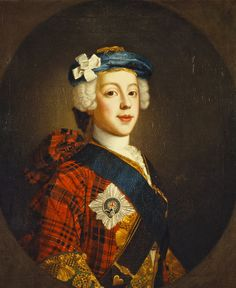 Prince Charles Edward Stuart, Eldest Son of Prince James Francis Edward Stuart - William Mosman.