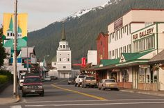 Sitka, Alaska Population: 9,020 Situated on the shores of the Pacific Ocean at the foot of glacial-carved mountains, this picturesque village's Russian heritage can be seen in its onion-shaped domes. For more information, visit CityofSitka.com.