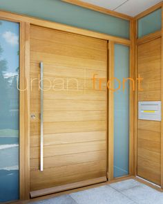Urban Front - Contemporary front doors UK | designs e-range | parma