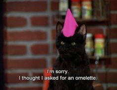 The 40 Greatest Things Ever Said By Salem TheCat #SabrinaTheTeenageWitch