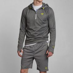 Mens A&F Active Half-Zip Hoodie | Mens Hoodies & Sweatshirts ...