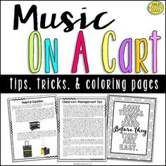 Music Classroom, Music Teachers, Classroom Ideas, Teacher Cart, Classroom Management Tips, Becoming A Teacher, Travel Music, Home Learning, Elementary Music