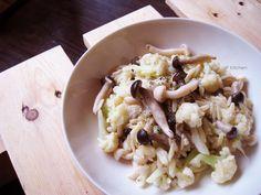 20140114_雙菇白花椰燉米粒麵.