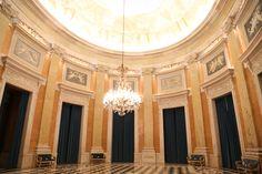 Marble room in Ajuda palace