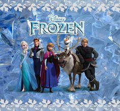 Frozen: Etiquetas para Imprimir Gratis.                                                                                                                                                                                 Más