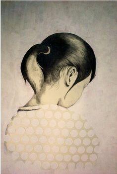 Yoshinori Kobayashi. Gorgeous and thought provoking. I like the textures going on.