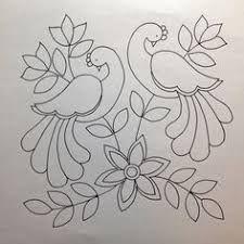 Awesome Most Popular Embroidery Patterns Ideas. Most Popular Embroidery Patterns Ideas. Mexican Embroidery, Crewel Embroidery, Hand Embroidery Patterns, Applique Patterns, Applique Quilts, Beaded Embroidery, Madhubani Art, Madhubani Painting, Peacock Embroidery Designs