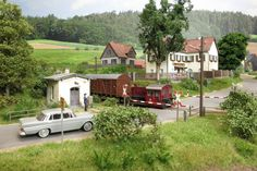The Advantages Of N Scale Train Layouts And Why They Are The Space Savers - Model Train Buzz Ho Trains, Model Trains, Ho Train Layouts, Train Miniature, Rail Car, N Scale, Small World, Garden Design, Scenery