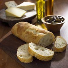 Ciabatta Brot mit oel
