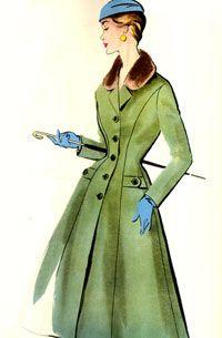 Модели из журналов Burda за 1956-1957 годы