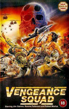 """theactioneer: """"Vengeance Squad UK VHS (Jett C."""