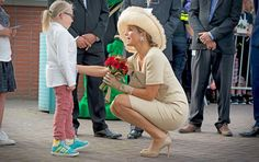 Queen Maxima at the Ambassador Days in Amsterdam Aug 29, 2015.