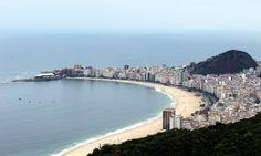 Ipanema & Leblon beaches #Brazil |  Photo By -  Fla & Ed