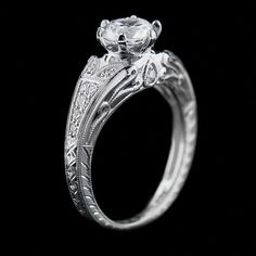 Enchanted Engagement Ring   Miadonna.com