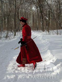 L'ensemble avec de la laine manteau russe du XVI e siècle