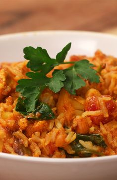 Chicken Biriyani Bake