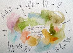 Sensory Maps_Experiments with smells and colours in Cape Cod.