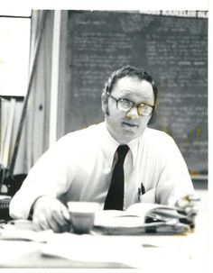 Ron Brunner teaches a class in the program that would later become known as the Gerald R. Ford School of Public Policy
