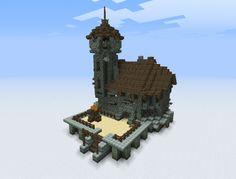 Minecraft Maison Médiéval