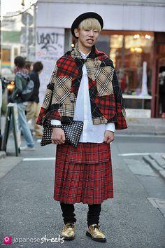 130210-2380 - Japanese street fashion in Harajuku, Tokyo