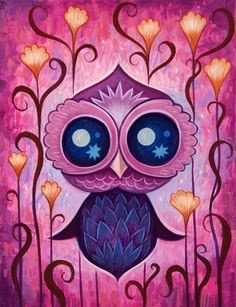You're In Love, Little Owl,  That's Why Everything's Pink....But If I'm Mistaken—Wink!