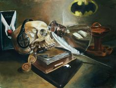Modern Vanitas-Scholastic HONORABLE MENTION Award - Ben Walant's Portfolio