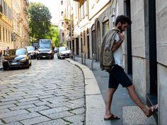 Surviving summer with linen-silk blazer // Fresco estivo