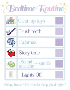 166 Best Bedtime Routine Images In 2020 Bedtime Routine